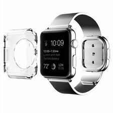 Clear Hard Full Case Cover Screen Protector For Apple Watch Series 3 38mm