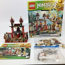 70505 Lego Ninjago Temple of Light-Temple is complete-missing other parts of set