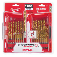 Milwaukee 48-89-4632 29 Piece TiN Shockwave Drill Bit Kit