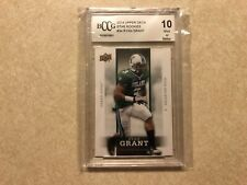 2014 Ryan Grant Upper Deck Star Rookies RC — Graded BCCG 10 —