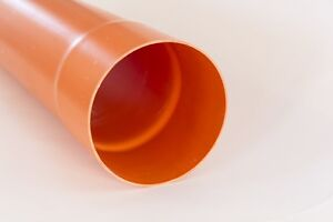 Tubo in policloruro di vinile (PVC-U) - Colore Arancio