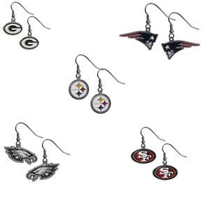 NFL Dangle Earrings - Pick Your Team-USA SELLER- FREE SHIPPING IN USA