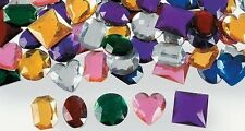 10 Jumbo Self Adhesive Jewels Gems for Kids Crafts