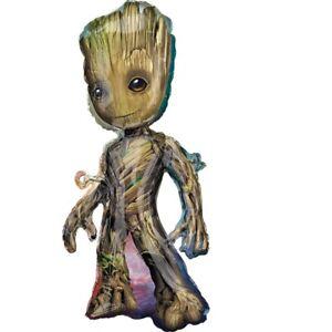 "XL 40"" Guardians of the Galaxy Vol. 2 Baby Groot Mylar Foil Super Hero Balloon"