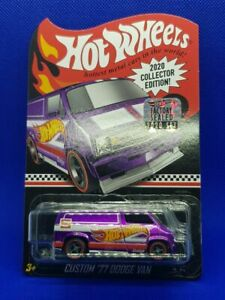 Hot Wheels 2020 Collectors Edition Factory Sealed Set '77 Dodge Van