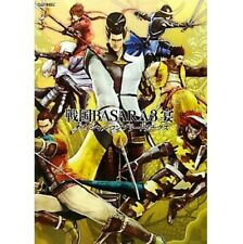 Sengoku Basara 3 Utage official complete works illustration art book / PS3 / Wii