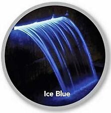 Atlantic Water Gardens Lighted Colorfalls - 24 Inch Blue LED
