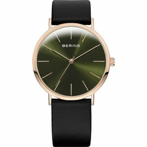 Bering Men's Wristwatch Slim Classic - 13436-469 Leather