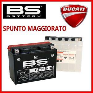 BATTERIA MOTO 12V 10AH YT12B-BS PER DUCATI 1098S R S RACING 2007 2009 SIGILLATA