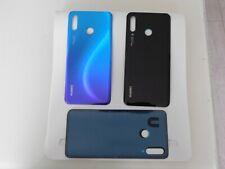 """Vitre Arrière - Cache Batterie - Huawei P30 Lite 24MP """" Noir / Bleue"""""""