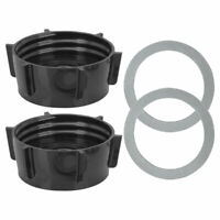 2 Pack 4902 Blender Jar Base and Gasket Replacement Part for Oster Blenders