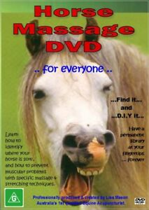 Horse Massage Equine Myotherapy Sore Back Treatment DVD