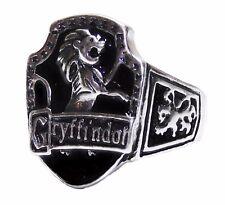 Harry Potter Gryffindor Crest Logo Finger RING - Size 9