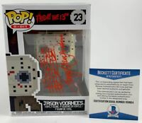 Harry Manfredini Signed Friday The 13th Jason Voorhees 8-Bit Funko POP BAS COA