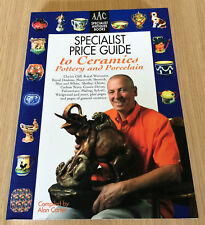 Alan Carter - SPECIALIST PRICE GUIDE TO CERAMICS - Pottery and Porcelain - Book