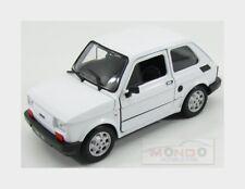Fiat 126 1972 White Welly 1:24 WE24066W