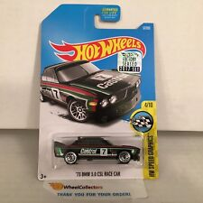 '73 BMW 3.0 CSL Race Car #57 * Black * 2017 Hot Wheels FACTORY SET Edition