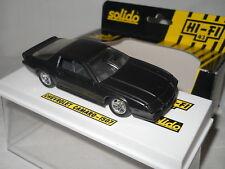 Chevrolet CAMARO noir mat - Solido Verem 1/43