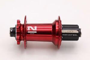 Novatec Downhill  MTB Disc Black Hub Set DH61SB&XDH42SB 32h