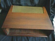 Vintage Wood Case Cabinet Fisher FM-100-B tuner & KX-100 X-202-B KX-200 72SX074