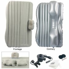 Auto Car Inflatable AirBed Mattress with 2 Pillow for Back Seat Grey