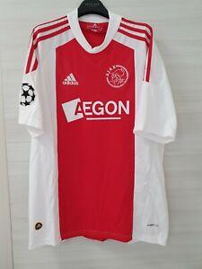 Maglia Shirt Camiseta Trikot Calcio Football Ajax Home 2010/11 M