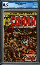 Conan the Barbarian #24 MARVEL 1973, CGC 8.5 OW-W PAGES, 1st Full Red Sonja 🔥🔥