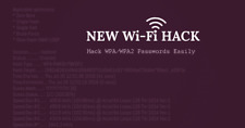 Learn how to Hack WiFi Networks(WEP,WPA,WPA2) - Immediate Delivery