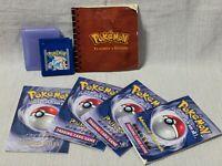 Pokemon Blue Nintendo Gameboy Game Cartridge Manual Authentic & Working