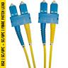 Enbeam Singlemode OS2 Duplex SC/UPC - SC/UPC LSZH Fibre Optic Cable Patch Lead