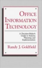 Office Information Technology: A Decision-Maker's Guide to Systems-ExLibrary