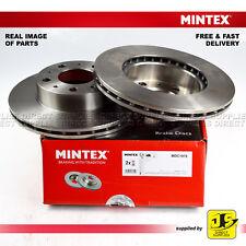 2X MINTEX FRONT DISC BRAKES MDC1978 FOR CITROEN RELAY FIAT DUCATO PEUGEOT BOXER