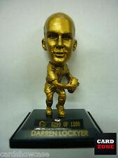 2008 Select NRL LIMITED EDITION GOLD FIGURINE NO.4 Darren Lockyer (Broncos)