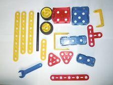 Lot pièces Meccano junior Spanner Wrench piece construction toys