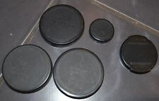 5 x Vintage PentaxPlastic Lens Cap Covers For SLR DSLR Cameras