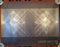 Jonah Groeneboer Light Asylum Silkscreen Poster Print (Not Lp Cd)