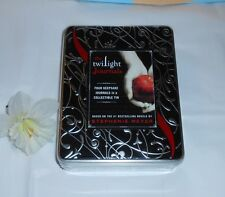 The Twilight Journals -  Four (4) Keepsake Journals Collectible Tin NEW & SEALED