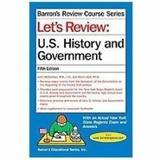 Let`s Review U.S. History and Government (Barron`s Review Course), NEW