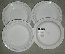 CORNING CORELLE COUNTRY COTTAGE LOT OF 4  RIM SOUP BOWLS NEW MADE U S A  15 OUNC