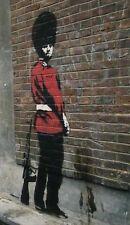 Banksy Guardia Encendido Pared Acero Imán de Nevera(Se)