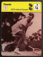 FRANK SEDGMAN 1979 Hall Of Fame Tennis Player 1979 SPORTSCASTER CARD 103-06