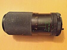Sears Model 202 7375020 Korea 80-200 mm f/1:4 Zoom Multicoated Camera Lens Black