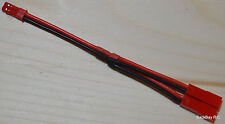 2X JST Lipo Concentrator / Parallel Adapter - 10CM 20awg Wire