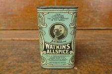 Vintage J.R. Watkins Medical Co Allspice Spice Tin 1/2 Half Pound Winona MN