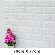 10PCS 70*77cm Foam 3D Tile Brick Wall Sticker Self-Adhesive DIY Wallpaper Panels