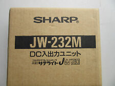 Sharp JW-232M Input/Output Module NEW!!! in Factory Box Free Shipping