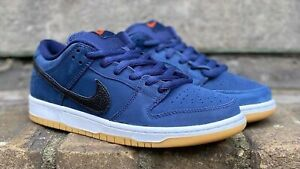 NIKE SB DUNK LOW PRO ISO ORANGE LABEL OBSIDIAN (CW7463-401) US 10