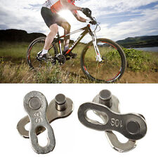 2 Pairs KMC 8/9/10 Speeds Missing Link Quick Link Chain Link Join Link Sliver