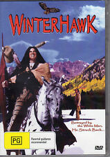 WINTERHAWK - BETRAYED BY WHITE MAN, HE STRUCK BACK. NEW ALL REGION DVD