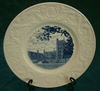 Duke University Commemorative Plate Crowell Dormitory Tower 1928